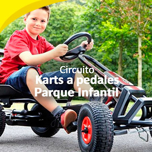 Circuita Karts a pedales y parque infantil