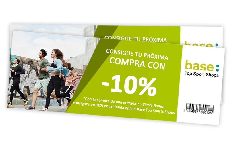 descuento 10% base sports Calahorra