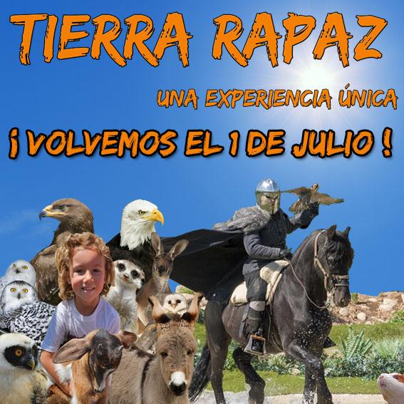 Vuelve Tierra Rapaz