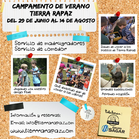 Reserva Campamento Tierra Rapaz