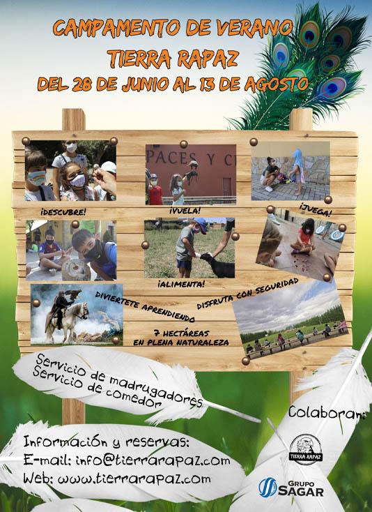 Campamentos Tierra Rapaz 2021
